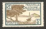Stamps Oceania - New Caledonia -  bahía de paletuviers