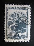 Stamps Russia -  Soldado lanzando granada de mano