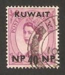 Stamps Asia - Kuwait -  elizabeth II