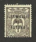 Sellos del Mundo : Oceania : Wallis_y_Futuna : fauna, cagou