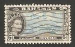 Stamps America - Bahamas -  Elizabeth II, transportes modernos