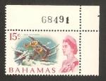 Stamps Bahamas -  Elizabeth II, jardín marino