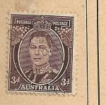 Sellos del Mundo : Oceania : Australia : Jorge VI