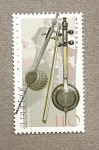 Stamps Asia - Armenia -  Instrumentos musicales