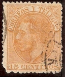 Stamps Europe - Spain -  Alofonso XII