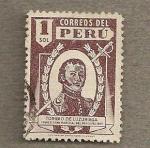 Stamps America - Peru -  Primer mariscal del Peru