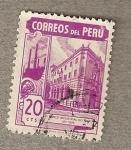 Stamps Peru -  Banco industrial del Peru