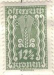 Sellos de Europa - Austria -  AUSTRIA 1922-24 (M368) Freimarken 12 1/2kr