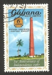 Stamps : America : Guyana :  castillo margot
