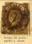 Stamps Spain -  Isabel II Ed 1862