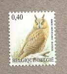 Sellos de Europa - Bélgica -  Búho