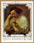 Stamps Romania -  Personajes -VAZUL