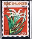 Stamps Cambodia -  Himenoballis
