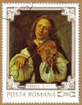 Stamps Romania -  Personajes -AUZUL
