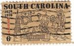 Stamps United States -  Carolina del sur