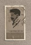 Sellos de Europa - Irlanda -  100 Aniv de J. M. Synge, poeta y dramaturgo