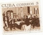 Stamps Cuba -  Centenario de la asamblea de Guaimaro
