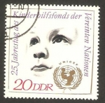 Stamps : Europe : Germany :  1971 - 25 anivº de U.N.I.C.E.F.