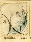 Sellos de Europa - Austria -  Escudo Ed 1863