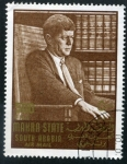 Stamps : Asia : Yemen :  Kennedy