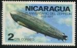 Sellos del Mundo : America : Nicaragua : Zeppelin