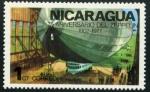 Stamps : America : Nicaragua :  Zeppelin