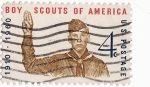 Stamps United States -  Boy scouts of America