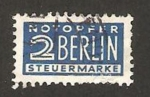 Stamps : Europe : Germany :  sobretasa obligatoria de ayuda a Berlin