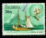 Sellos de America - Colombia -  Barcos