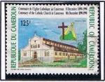 Stamps Africa - Cameroon -  Cent. de la iglesia Catolica