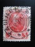 Stamps Russia -  Alexander III