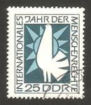 Stamps Germany -  año internacional de los derechos del hombre