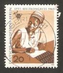 Stamps Germany -  20 congreso internacional del personal de correos y telecomunicaciones