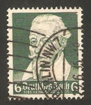 Stamps Germany -  350 anivº del nacimiento del compositor Heinrich Schutz