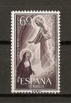 Sellos de Europa - España -  Centenario de la fiesta del Sagrado Corazon de Jesus