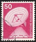 Sellos de Europa - Alemania -  Transporte y telecomunicaciones