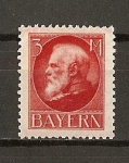 Stamps Europe - Germany -  Baviera / Luis III