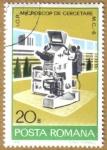 Sellos de Europa - Rumania -  MICROSCOP DE CERCETARE M.C.-6