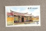 Stamps Asia - Taiwan -  Residencias tradicionales de Taiwán