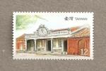 Stamps Taiwan -  Residencias tradicionales de Taiwán
