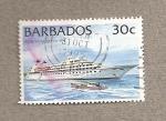 Sellos del Mundo : America : Barbados : Crucero Royal Viking