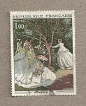 Sellos de Europa - Francia -  Cuadro de C. Monet