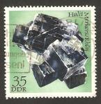 Sellos del Mundo : Europa : Alemania : mineral de la R.D.A., halite de merkers