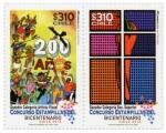 Sellos del Mundo : America : Chile : Concurso Estampilla del Bicentenario 2