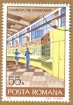 Stamps Romania -  CAMERA DE COMANDA