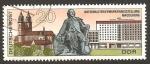 Sellos de Europa - Alemania -  exposición nacional de sellos de correos en magdebourg