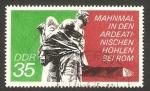 Sellos de Europa - Alemania -  monumento a la resistencia en la Alemania nazi