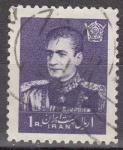 Sellos de Asia - Irán -  IRAN 1959 Scott 1142 Sello Mohammad Shah Reza Pahlavi 1R usado