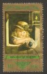Stamps Germany -  1580 - Niña con una muñeca, de C. Leberecht Vogel