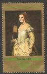Sellos de Europa - Alemania -  1583 - La mujer de blanco, de Le Titien